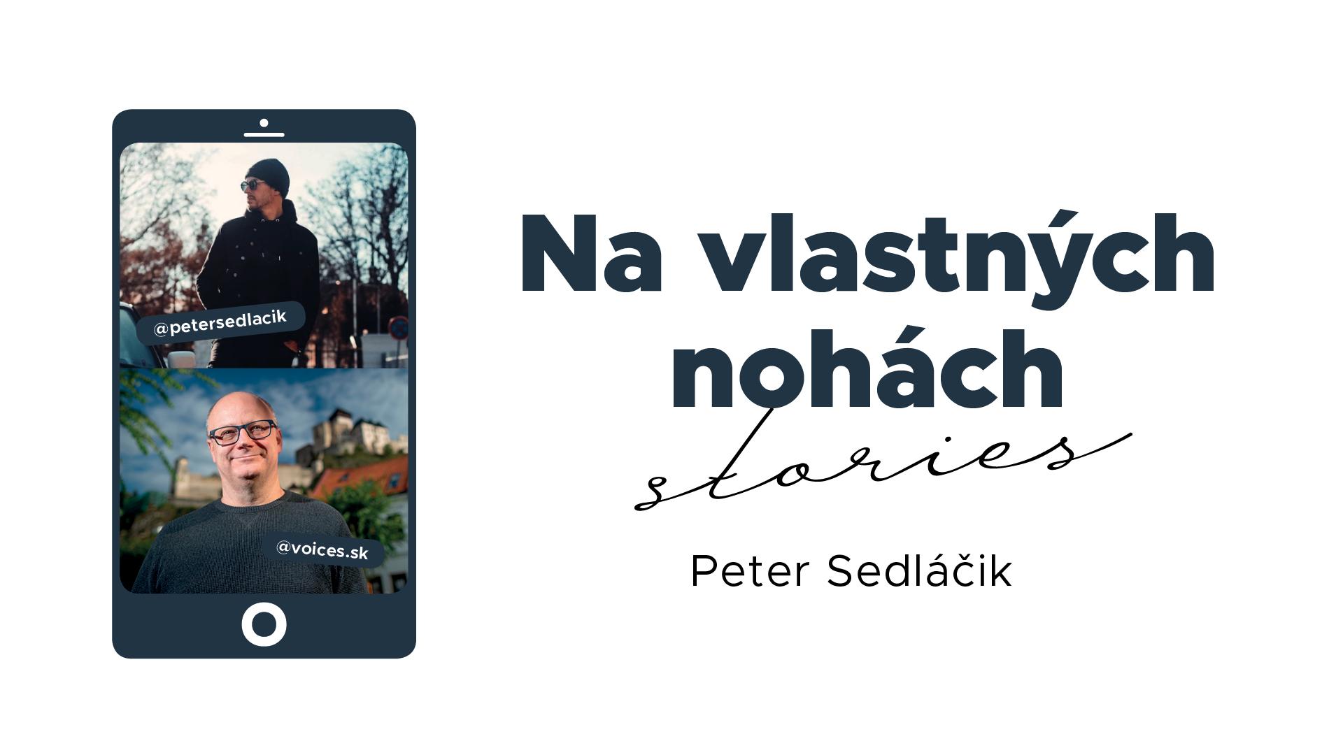 Na vlastných nohách stories_ilustračný obrázok Peter Sedláčik