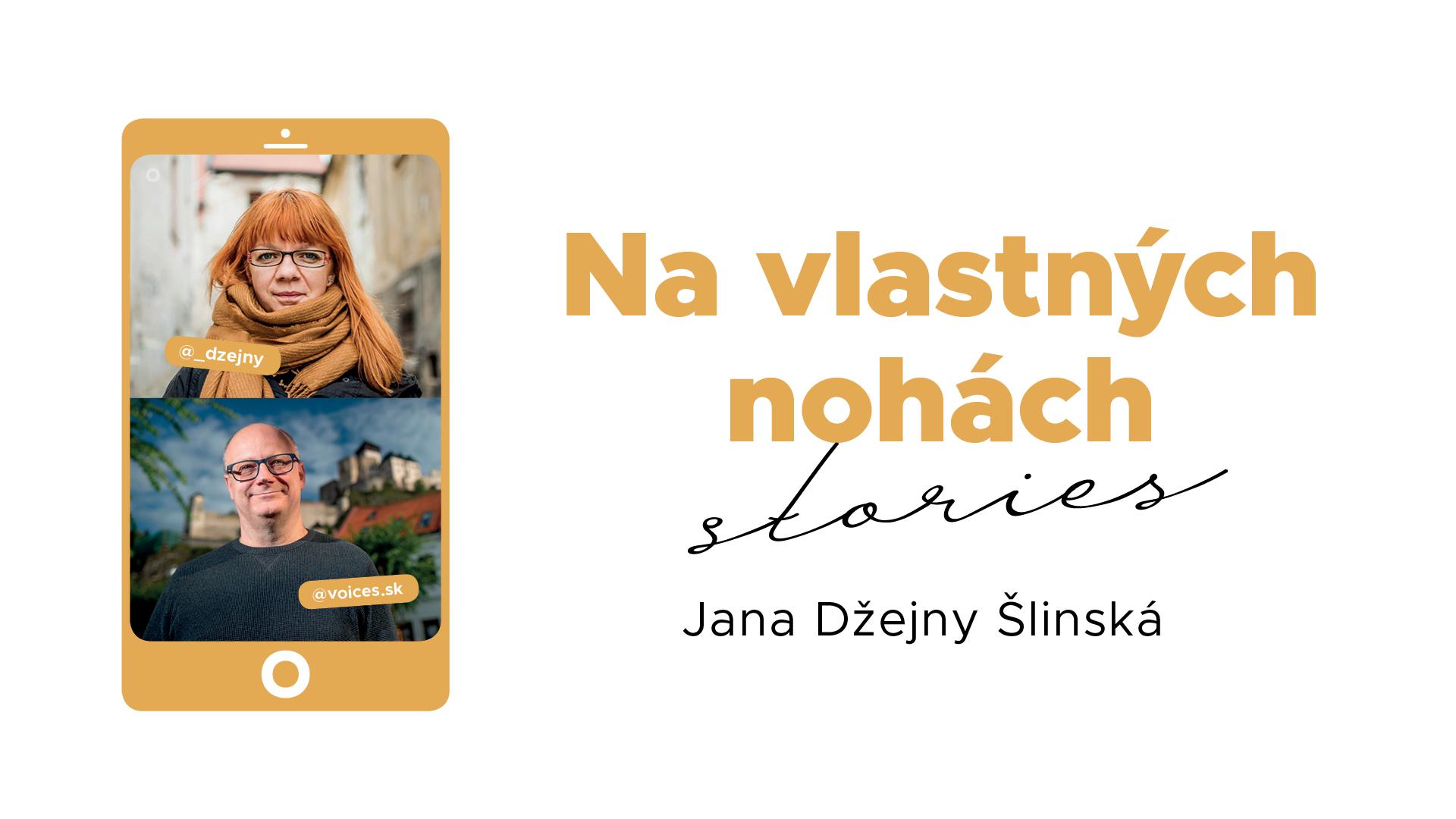 Na vlastných nohách Stories_ilustračný obrázok Jana Šlinská